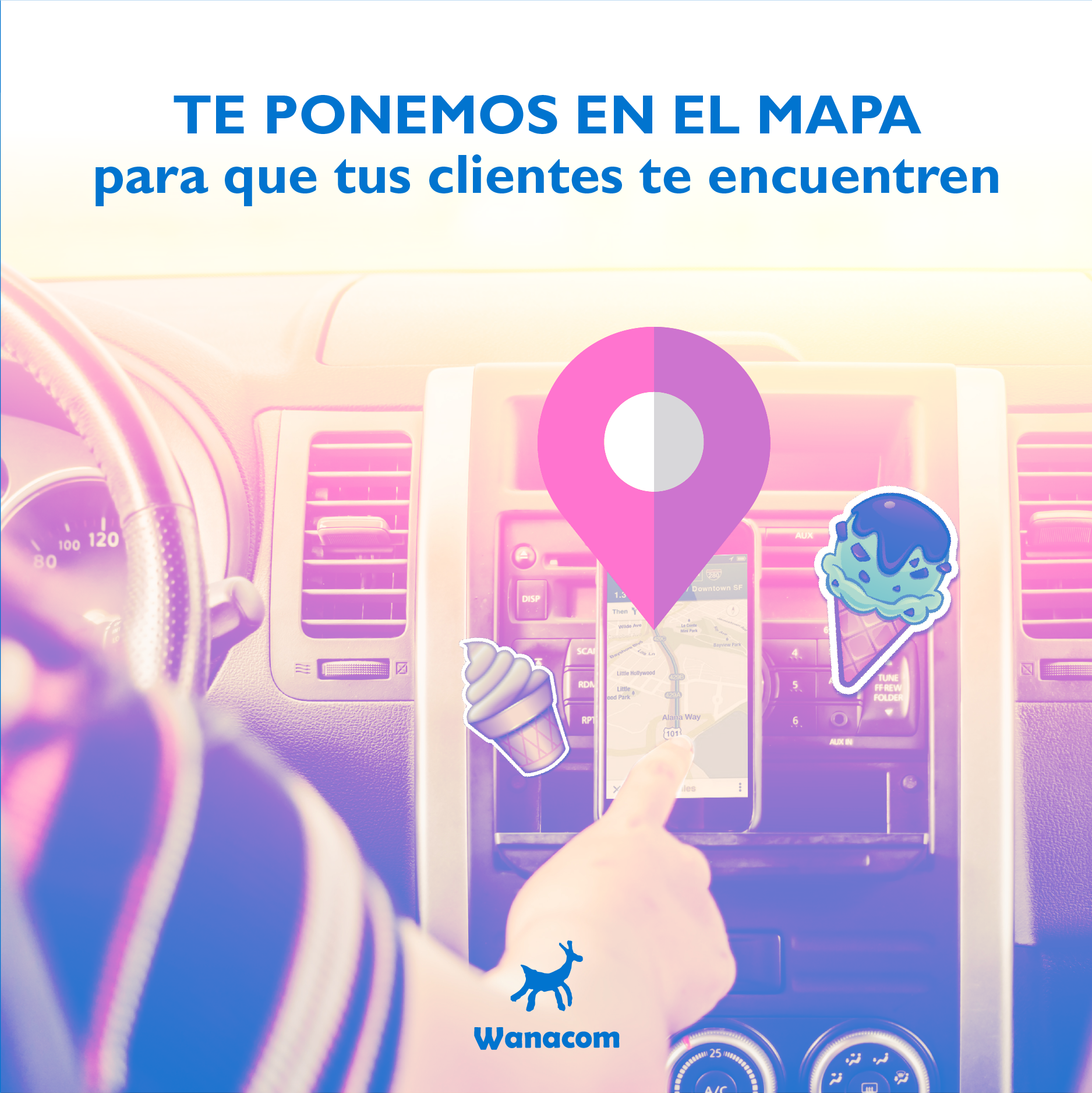 UBICAMOS TU LOCAL EN EL MAPA