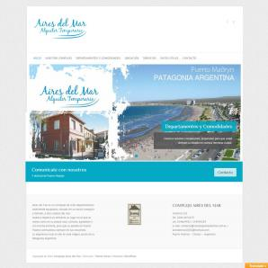 <p><a href='http://www.complejoairesdelmar.com.ar'>www.complejoairesdelmar.com.ar</a></p><p>- Diseño web RESPONSIVE, Implementación CMS: <strong>Wordpress</strong> / Web Hosting