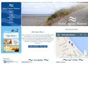 <p><a href='http://www.hotelaguasmansas.com.ar'>www.hotelaguasmansas.com.ar</a></p>Diseño web/  Web Hosting