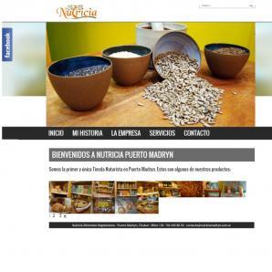 <p><a href='http://www.nutriciamadryn.com.ar'>www.nutriciamadryn.com.ar</a></p><p>- Diseño web RESPONSIVE, implementación CMS: <strong>Wordpress</strong> / Web Hosting