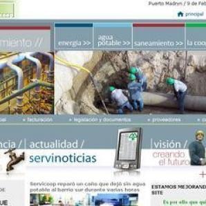 <p><a href='http://http://www.servicoop.com/'>http://www.servicoop.com/</a></p><p>- Diseño y sistemas web