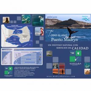 <p>Folletería turística para la ciudad de Puerto Madryn-Ahrcoba<p>