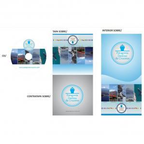 <p>Diseño caratula CD y sobre de CD<p>