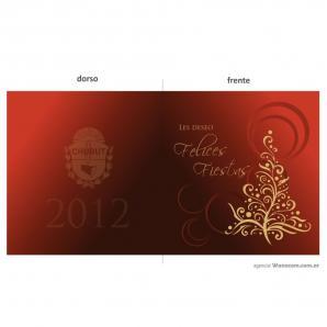 <p>Tarjeta salutación de fin de año Gobierno de la provincia de Chubut<p>