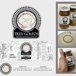 <p>Tres Golfos - Diseño de Marca de productos - logotipo y etiquetas<p>