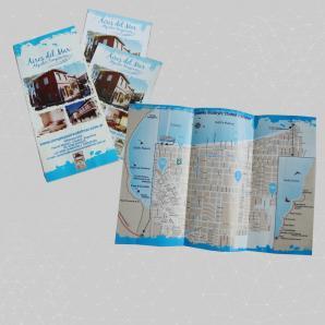 <p>Triptico y Flyer - Complejos Aires de Mar<p>